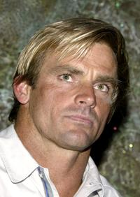 Laird Hamilton at the question and answer session of
