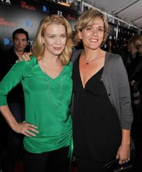 Laurie Holden and Catherine Dent at the screening of