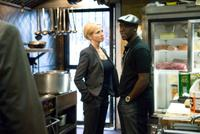 Ellen Barkin and Don Cheadle in