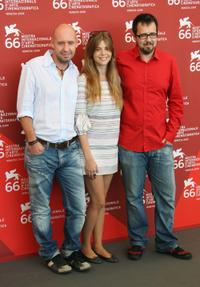 Jaume Balaguero, Manuela Velasco and Paco Plaza at the 66th Venice Film Festival.