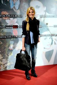 Manuela Velasco at the premiere of