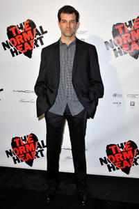 Mark Harelik at the Broadway opening night of