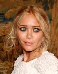 Mary-Kate Olsen at the fashion industrys battle against HIV/AIDs during the