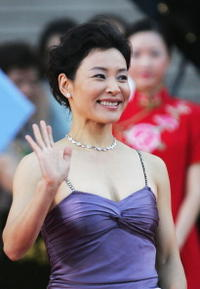 Joan Chen at the 8th Shanghai International Film Festival in Shanghai, China.