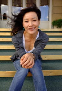 "Joan Chen at the Hotel Maria Cristina for her film ""Xiang ri kui (Sunflower)"" in San Sebastian, Spain."