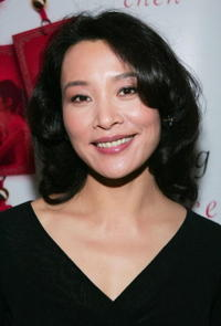 Joan Chen at the 'Saving Face' dinner in Toronto, Canada.