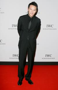 Chang Chen at the IWC Da Vinci Launch party.
