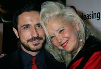 Craig Chester and Sally Kirkland at the premiere of