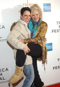 Craig Chester and Sally Kirkland at the screening of
