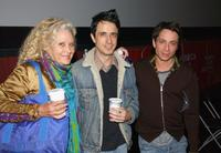Sally Kirkland, Craig Chester and Chris Kattan at the press conference of