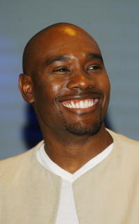 Morris Chestnut at  press conference in Hollywood, CA.