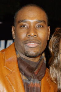 "Morris Chestnut at the Los Angeles premiere of ""Half Past Dead"" in Century City, California."