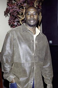 "Morris Chestnut at a private screening party for the movie ""Ladder 49"" in New York City."