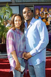 Morris Chestnut and his wife Pam at the 2nd Annual BET Awards Hollywood.