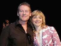 Richard Roxburgh and Justine Clarke at the 2006 L'Oreal Paris AFI Awards Nominations.