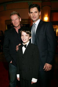 Richard Roxburgh, Kodi Smit-McPhee and Eric Bana at the premiere of