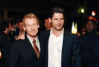 Richard Roxburgh and Eric Bana at the premiere of
