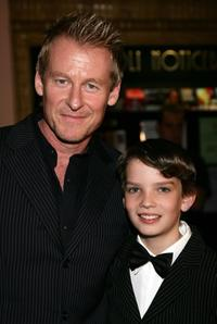 Richard Roxburgh and Kodi Smit-McPhee at the premiere of