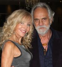 Shelby Chong and Tommy Chong at the California Rural Legal Assistance Teguino Celebration Gala.