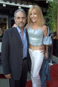 Tommy Chong and Shelby Chong at the TCA party.