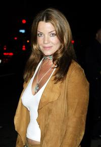 Claudia Christian at the opening of