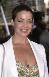 Claudia Christian at the premiere of