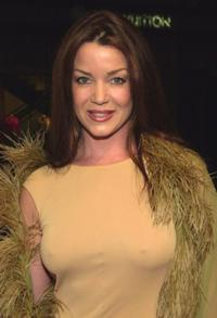 Claudia Christian at the Third Annual Cast Your Ballot party.