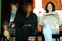 Julie Christie, Alfre Woodard and Mary McDonald at the Lysistrata Project a worldwide theatre event for peace.
