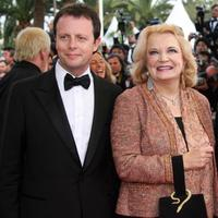 Frederic Auburtin and Gena Rowlands at the screening of