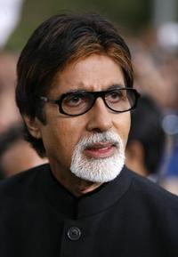 Amitabh Bachchan at the International Indian Film Academy Awards.