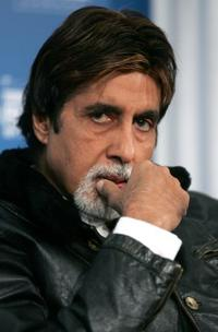 Amitabh Bachchan at the Toronto International Film Festival.