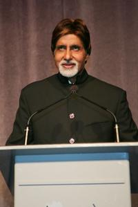 Amitabh Bachchan at the Toronto International Film Festival premiere of
