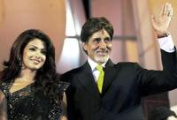 Amitabh Bachchan at the ceremonial opening of the shooting of