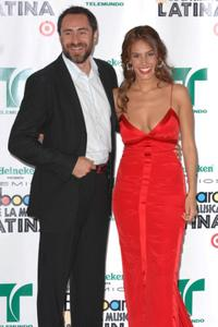 Demian Bichir and Sandra Echeverria at the 2007 Billboard Latin Music Awards.