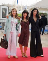 Dominique Blanc, Romane Bohringer and Rachida Brakni at the screening of