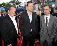 Christian Stolte, Jason Clarke and Giovanni Ribisi at the California premiere of