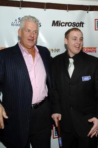 Lenny Clarke and Jeffrey Lynch at the