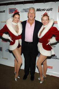 Lenny Clarke and The Rockettes at the