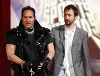 Andrew Dice Clay and Tom Green at the Arby's Action Sports Awards.