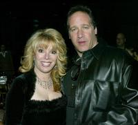 Andrew Dice Clay and Jackie Kallen at the after-party for