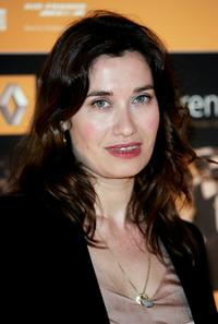 Emmanuelle Devos at the photocall launching the third annual Renault French Film Season supporting French cinema in the UK.