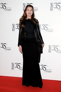 Emmanuelle Devos at the 35th Cesar Film Awards.