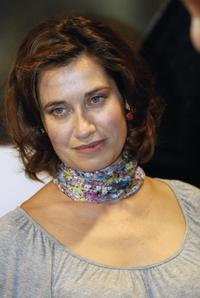 Emmanuelle Devos at the screening of