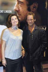 Emmanuelle Devos and Vincent Lindon at the screening of