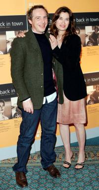 Arnaud Desplechin and Emmanuelle Devos at the third Annual Renault French Film Season.