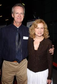 David Clennon and Mary Kay Place at the premiere of