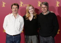 Francois Cluzet, Isabelle Carre and director Christian Vincent at the photo call of