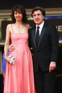Valerie Bonneton and Francois Cluzet at the premiere of