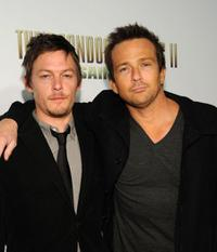Norman Reedus and Sean Patrick Flanery at the premiere of