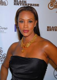 Vivica A. Fox at the Black Enterprises Top 50 Hollywood Power Brokers Celebration.